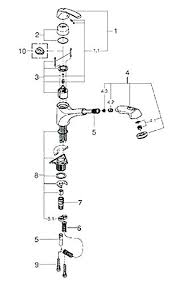 kohler kitchen faucet parts diagram kohler kitchen faucets parts for kitchen sink parts kitchen