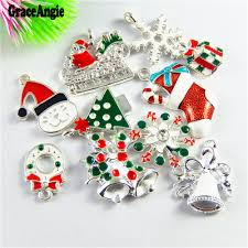 30pcs mix stylish mini christmas present charms gift colorful