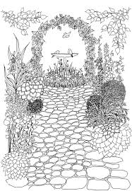 exclusive inspiration garden coloring book 15 marvelous decoration