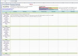 Editorial Calendar Template Excel Social Media Calendar Excel Template Blank Calendar Design 2017
