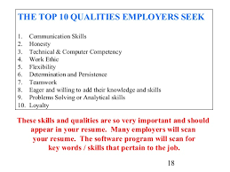 Resume Good Examples by Chic Ideas Examples Of Skills To Put On A Resume 7 Abilities For