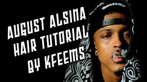 hair like august alsina august alsina hair tutorial twist out youtube