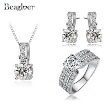 aliexpress buy beagloer new arrival ring gold aliexpress buy beagloer new arrival jewelry set gold