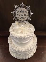rhinestone cake vintage rhinestone cake topper happy birthday