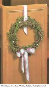 Wedding Decorations For Church Pew Bows With Greenery Church Wedding Decorations Perfect For