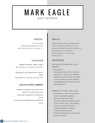 Example Military Resume by Military Resume Examples And Samples Resume For Your Job Application