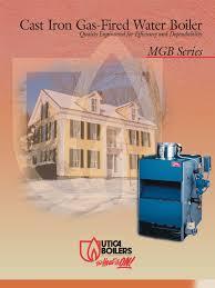 utica gas boiler pilot light utica mgb water gas fired boiler brochure boiler water