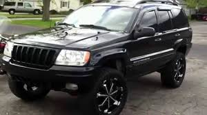 convertible jeep black lifted jeep grand cherokee limited 4x4 on 20 u0027s youtube