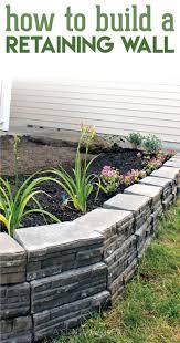 best 25 diy retaining wall ideas on pinterest garden retaining
