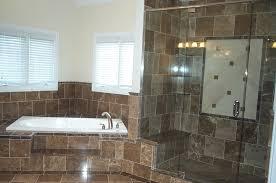 tiled baths nice bathrooms nice bathroom remodeling job with big dark tiles