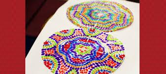 5 spotty dotty kids crafts diy thought
