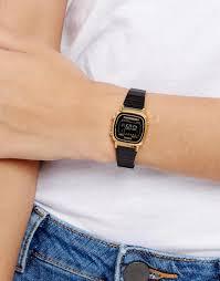 casio donna piccolo da donna 1151325 black casio la670wegb orologio digitale con