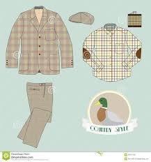 smiling in country style clothing stock photo image 40322342