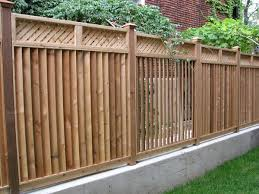 Fence Backyard Ideas by Semi Privacy Wood Fence Yard Fence Ideas Fence Designs On