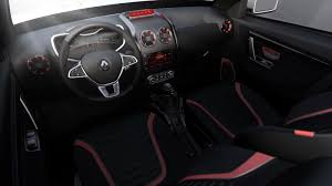 renault truck interior renault turns duster into oroch pickup truck concept for brazil