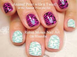 easy nail art for short nails 2 diy animal print designs cute
