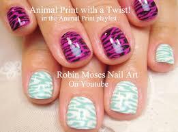 easy nail art for short nails 2 diy animal print designs