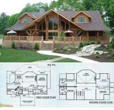log home floor plans with garage lakefront ii log home and log cabin floor plan floor plans
