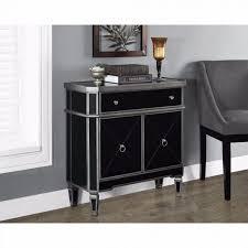 nightstand two tone wood bedroom furniture nightstand shelf