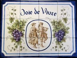 kitchen backsplash tile murals 51 best painted tiles tile murals decorative tiles by