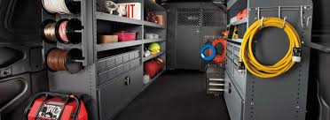 Ford Transit Connect Shelving by Fishing For Solutions With Racks And Bins For Ford Transit Connect
