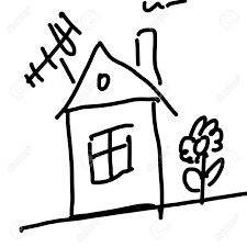 House Drawing by Drawing Of A House Stock Photo Picture And Royalty Free Image