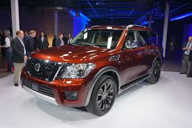 suv nissan 2017 nissan unveils 2017 armada full size suv at chicago auto show