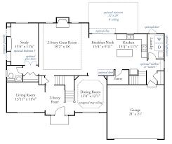 11 x 11 kitchen floor plans the edward john henry homes john henry homes