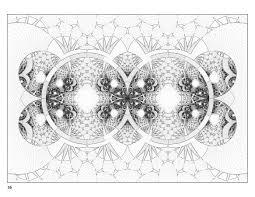 fractal art coloring book