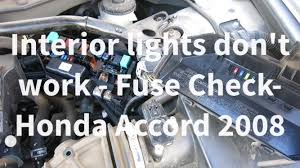 how to change interior light bulb in car honda accord interior lights not working troubleshoot interior