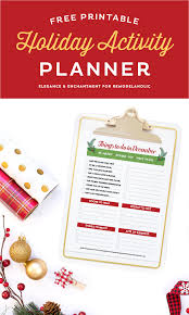 remodelaholic free printable activity planner