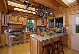 log cabin home interiors pretty modern log cabin interior design and kitchen the secret of