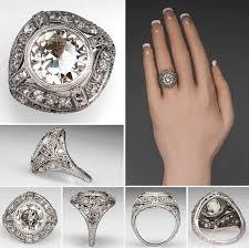 8 antique engagement rings from eragem that u0027ll give vintage lovers