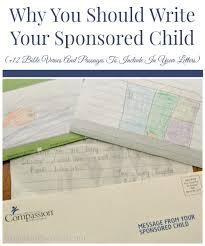 write sponsored child 12 bible verses