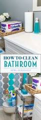 How To Clean Your Bathroom by Best 10 Spring Cleaning Bathroom Ideas On Pinterest Cleaning