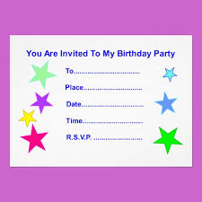 happy birthday invitation cards cloveranddot com