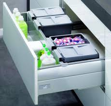 kitchen bin ideas these stacking bins make separating papers and plastics a deluxe