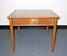 Drexel End Table by Brown Mid Century Modern Antique Furniture End Tables Ebay
