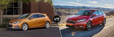chevy sonic vs ford focus 2017 chevy cruze vs 2017 ford focus