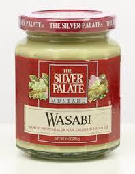 wasabi mustard silver palate wasabi mustard