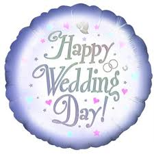 happy wedding day happy wedding day balloon writtle road nursery the secret garden