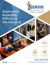 genius locksmith has been established since 2012 in tampa