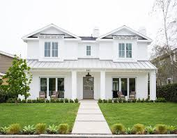 Modern Farmhouse Colors Newport Heights Modern Farmhouse Gray Front Doors Exterior