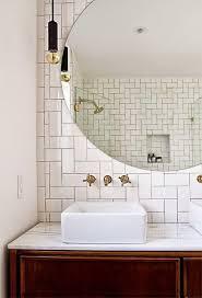 Fancy Bathroom Mirrors by 25 Best Bathroom Mirror Lights Ideas On Pinterest Illuminated
