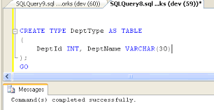 Sql Declare Temp Table Sql Server 2008 Introduction To Table Valued Parameters With