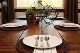 dining room modern thanksgiving dinner table settings and