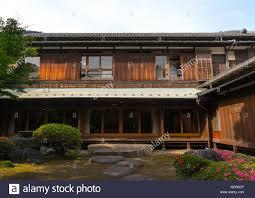 garden of kyu asakura traditional japanese house from taisho era