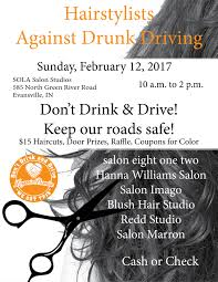 hair stylist against drunk driving