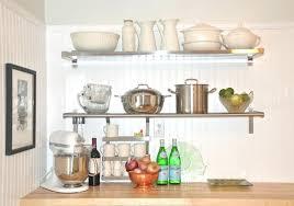 kitchen shelf ideas fancy floating shelves large size of metal wall shelves fancy