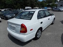 2002 hyundai accent sedan 2002 hyundai accent gl 4dr sedan in newport va deer park